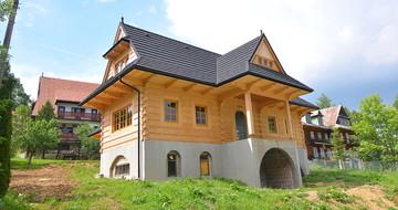 GERARD Corona Mørkt sølv Bukowina Tatrzańska, dom jednorodzinny